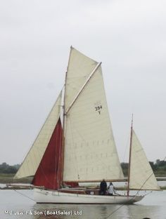 """""""Gwenili"""", Gaff Yawl, French built yacht, Pitch Pine carvel planked hull on oak frames. A Classic Yacht Gentleman's pleasure yacht along the lines of a working fishing vessel. She has a new diesel engine installed. Hull has been resplined, she has a new mizzen mast, much of her rigging and her sails by James Lawrence are new."""