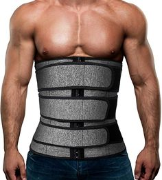 Cool Rank Number <strong>5. Men's Workout Waist Trainer Neoprene Corset Sauna Sweat Trimmer</strong> - Click link below to review this product. Workout Corset, Workout Belt, Waist Workout, Best Belly Fat Burner, Belly Burner Belt, Waist Trainer Before And After, Sweat Belt, Waist Trainer Corset, Waist Trainer For Men