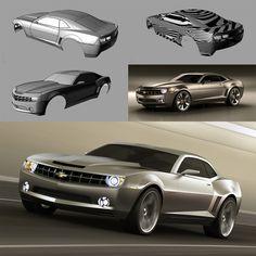 Camaro concept on Behance