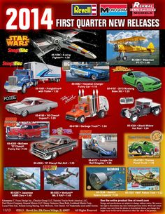 new car model release2nd Quarter Revell New Releases  Model cars  Pinterest