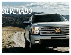 2013 Chevrolet Silverado 1500 Brochure Download - #Chevrolet #Silverado #Brochure