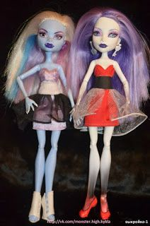 Free Pattern -Monster High, Party Dress' (click on pic to go to pattern)