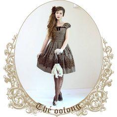 Third outfit of the tea series: Oolong tea! #fannyrosie #fashion #jfashion #classiclolita #vintage #vintagestyle #marymagdalene #clarks #tweed #style #tea #oolong #longhair