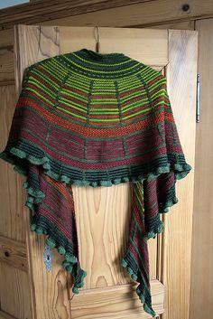 Ravelry: Malina Shawl / Tuch pattern by Alexandra Wiedmayer