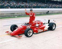 1985 - Danny Sullivan's (#5) Miller American - March/Cosworth Ford DOHC V8 - Qualified: 8th, Speed (210.298 mph) Finished: 1st, Led 67 Laps, Race Time: 3:16:06.069 - Spun - n - Won