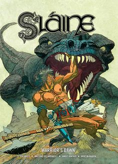 Slaine by Mike McMahon. One of my favourite covers ever.