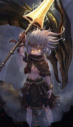 Darksouls Wallpaper Fanart Nameless King You Died Character Inspiration, Character Art, Character Design, Fantasy Characters, Female Characters, Arte Dark Souls, Bloodborne, Soul Saga, Dark Blood
