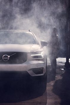 The Volvo XC40 luxury SUV - Scandinavian design, straight up, with a twist.