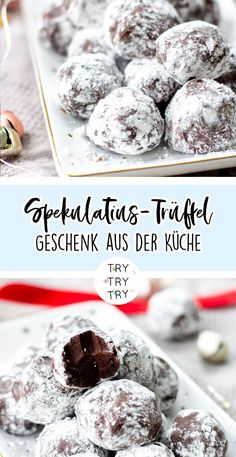 Speculoos truffle- Spekulatius-Trüffel Spekulatius truffles / gifts from the kitchen // food gifts // Christmas gifts // Christmas gifts // homemade gifts // DIY gifts // baking, cooking, handicrafts // food gifts - Christmas Food Gifts, Homemade Christmas Gifts, Homemade Gifts, Christmas Truffles, Comida Diy, Cookie Recipes, Dessert Recipes, Food Gift Baskets, Diy Food Gifts