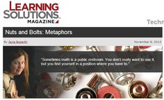 Article based on this board. http://www.learningsolutionsmag.com/articles/1054/nuts-and-bolts-metaphors