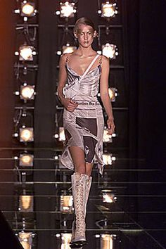 John Galliano for Christian Dior Newspaper Dress - Spring 2000