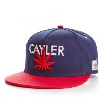 Snapback Cayler   Sons Noire et blanche cb37f2fa78f