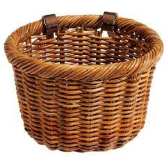Nantucket Bicycle Basket Co. Cisco Collection Bicycle Basket, Brown