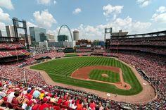 Busch Stadium, home of the St Louis Cardinals. <3 St Louis, Missouri