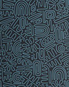 Line Design Pattern, Textile Pattern Design, Graphic Design Pattern, Graphic Patterns, Textile Patterns, Line Patterns, Prints And Patterns, Easy Patterns To Draw, Zentangle Patterns