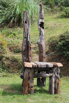 Driftwood Statement Chair,Drift wood Chair, Driftwood Garden Seat,Coastal Garden