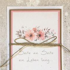 Hochzeitskarte / Sel