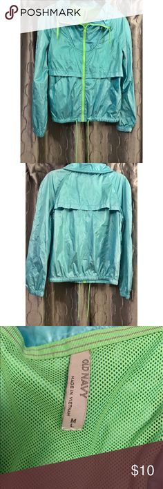 M/L blue and green wind breaker. Old Navy. M/L blue and green wind breaker. Old Navy. Old Navy Jackets & Coats