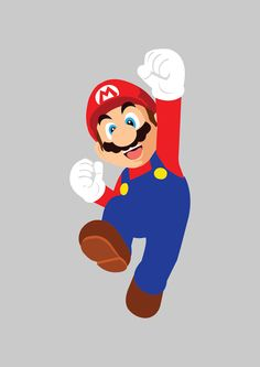 Mario vector on Behance