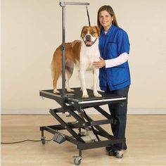 Have to have it. Master Equipment Electric Easy Lift Grooming Table - Black $1453.99