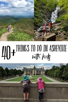 things to do in Asheville with kids - tips from a local! Read about the top 10 can't miss family friendly things to do, free things to do in Asheville with kids, the best hotels, and more! - Explore More Clean Less Hiking With Kids, Travel With Kids, Family Travel, Family Vacation Destinations, Vacation Trips, Dream Vacations, Vacation Ideas, Day Trips In Ohio, North Carolina Vacations