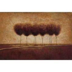 Abstract Landscape III Canvas Art - Susan Osborne (12 x 18)