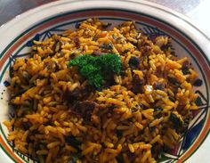 ROUZ DJERBI - Gedämpfter Reis mit Fleisch / tunesisch kochen lernen / cu...