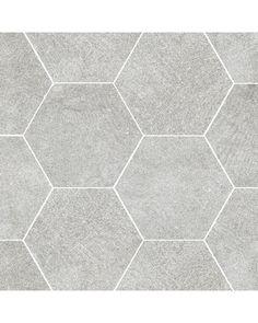"Storka Storka Concrete Tile - Milano 9.6"" x 11"" - Vivo Hexagon Concrete Look…"