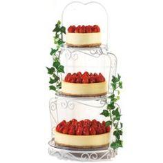 White Chocolate Cheesecakes