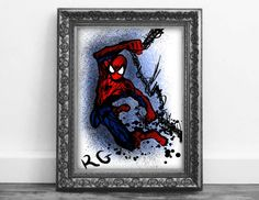 Check out this item in my Etsy shop https://www.etsy.com/ca/listing/485624995/spiderman-swings-marvel-co-it-book-fan