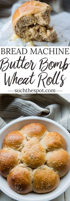 Guaranteed to be the most addictive menu item on any holiday table, these bread machine wheat rolls (yes, they're that easy!) deliver unmatched homemade flavor. They're insanely delicious.