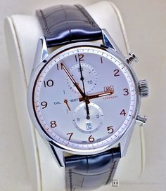 TAG Heuer Carrera 1887 Relógios Masculinos, Relógios Legais, Relógios Para  Homens, Men s Watches 1bb9e0b7d0