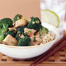 WW - Chicken Teriyaki with Broccoli.