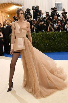 Gigi Hadid Met Gala 2017 Dresses   British Vogue
