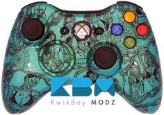 Chameleon Sexy Zombies Xbox 360 Controller - KwikBoy Modz #customcontroller #zombies #moddedcontroller #sexyzombies #chameleon #xbox360 #xbox360controller