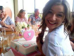 El at her birthday party x
