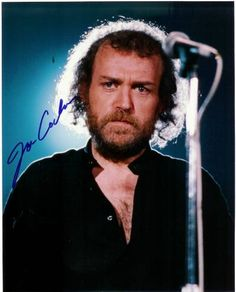 Joe Cocker.....will miss your beautiful gravelly voice..... RIP