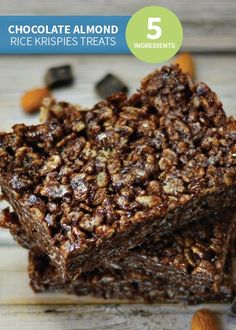 4d1579886504 Chocolate and almond provide a fun spin on the classic Rice Krispies  Treats®