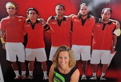 HISTORIC!!! FOR THE FIRST TIME IN HISTORY, A WOMAN WILL LEAD THE DAVIS CUP CHARGE!! SPANISH TENNIS FEDERATION APPOINT FORMER WTA PLAYER GALA LEON GARCIA AS HEAD COACH!! Historic first as Spain appoint female Davis Cup captain The Spanish tennis federation have announced that former WTA player Gala Leon Garcia will replace Carlos Moya as the country's Davis Cup captain, becoming the first female coach to hold the position. #AbsolutelyWonderful 9/24/14