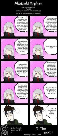 Akatsuki orphan comic she forgot the zetsu I'm sorry zetsu she will know u soon