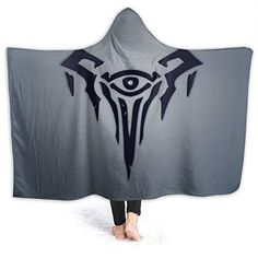 QFAFO League of Legends Logo Hooded Blankets Lightweight ... smile.amazon.com/...