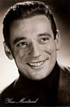 Yves Montand ne Ivo Livi, Monsummans Terme Italy, (1921-1990), heart attack. Became a French citizen. Married to French actress Simone Signoret from 1951 until her death in 1985.