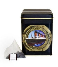 RMS Titanic Blend - A portion of sales from this tea benefits The Ocean Conservancy. Tea sachets, tin of 20.