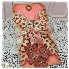 Tutorial: Doily Wrapped Mother's Day Tag — Tammy Tutterow Designs