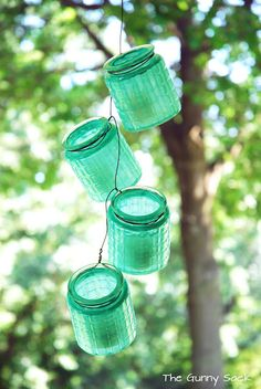 {Anthropologie Knockoff} Hanging Jar Strand