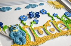 Quilling Baby Name