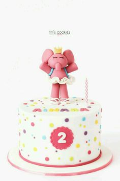 bolo Elly Mini Mouse Birthday Cake, Twin Birthday, 2nd Birthday Parties, Brithday Cake, 1st Bday Cake, Return Gifts For Kids, Cake Land, Different Cakes, Bday Girl
