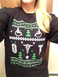 OT ugly holiday sweater! Love it! aota.org