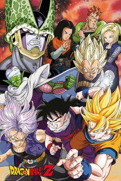 Dragon Ball Z Cell Saga - Official Poster