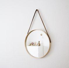 Ikea Hack : plateau -> miroir suspendu Plus